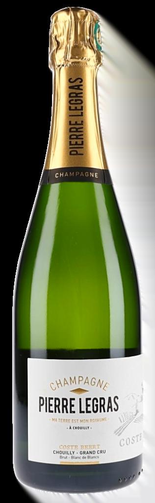 Champagne Pierre Legras grand cru blanc de blanc Coste Beert