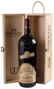 Tommasi Amarone Classico della Valpolicella Jeroboam 3 liter in houten kist